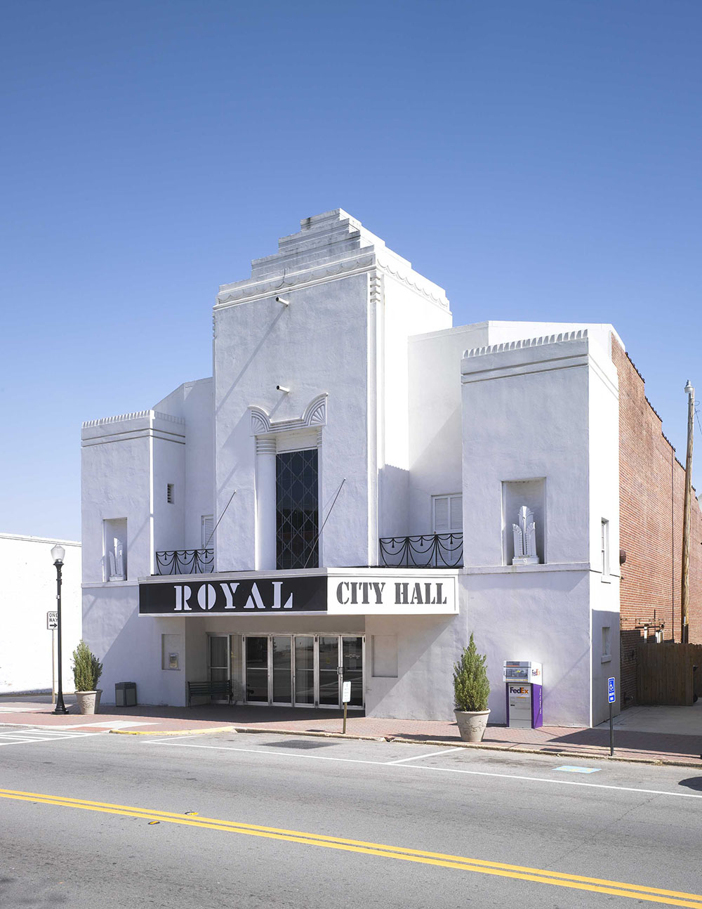 Architect in Atlanta GA restores Hogansville Royal Theater